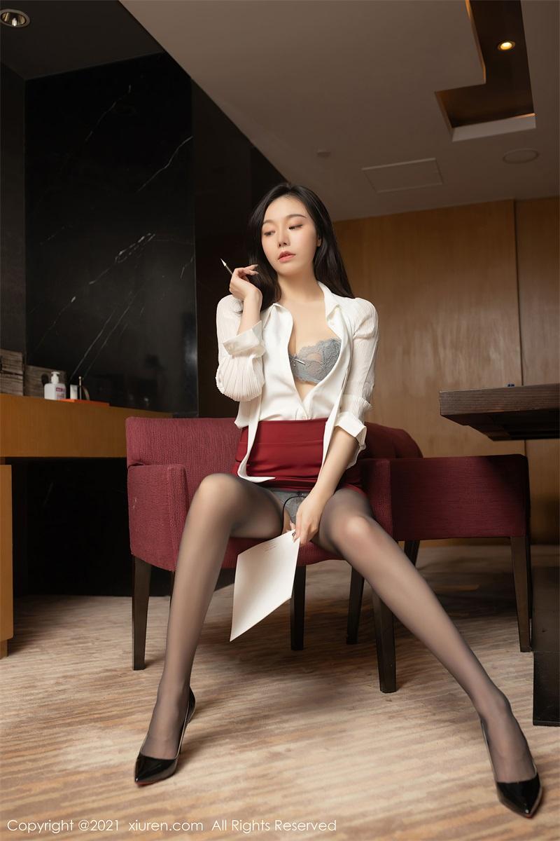 美女写真  会议室OL主题 安然Maleah [59P/583MB] 美丝写真-第4张