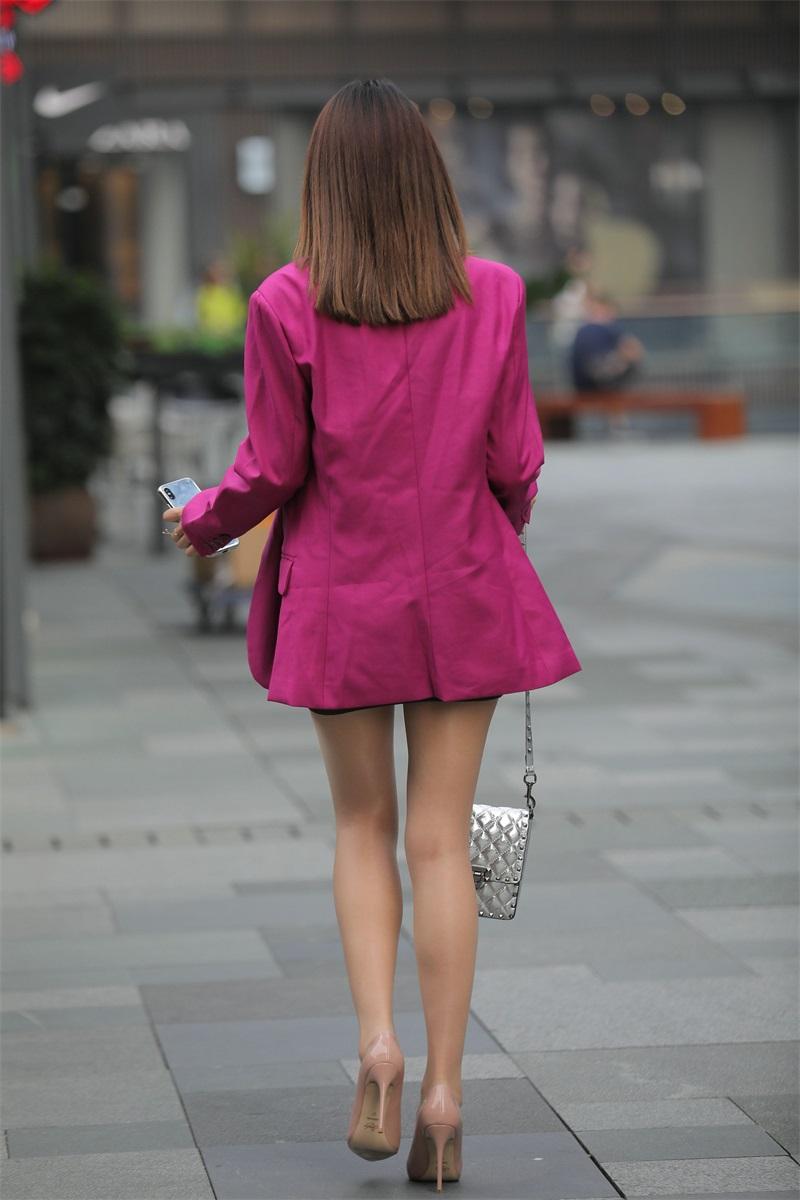 精选街拍 NO.228 漂亮的油亮丝袜长腿小街街 [653P/489MB] 精选街拍-第4张