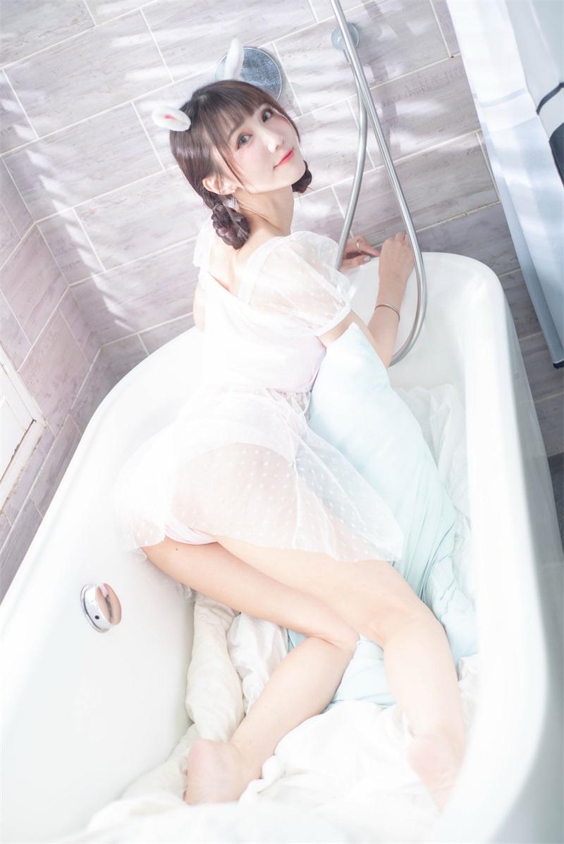 精选模拍 NO.026 喬喬兒 粉紅睡衣裸足美腿 [86P/92MB] 精选模拍-第4张