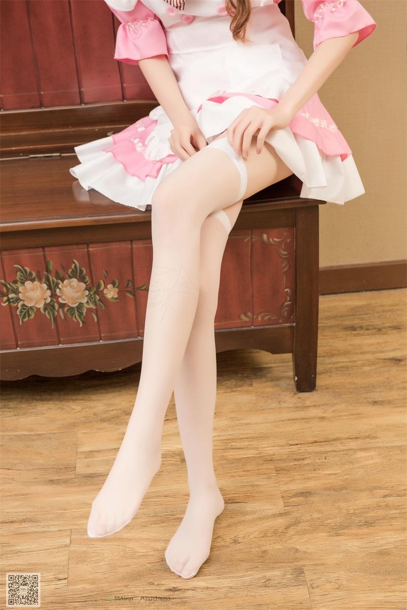 [SSA丝社] 超清版 NO.012 琪琪 我的粉红女仆 [99P/1.30GB] SSA丝社-第4张