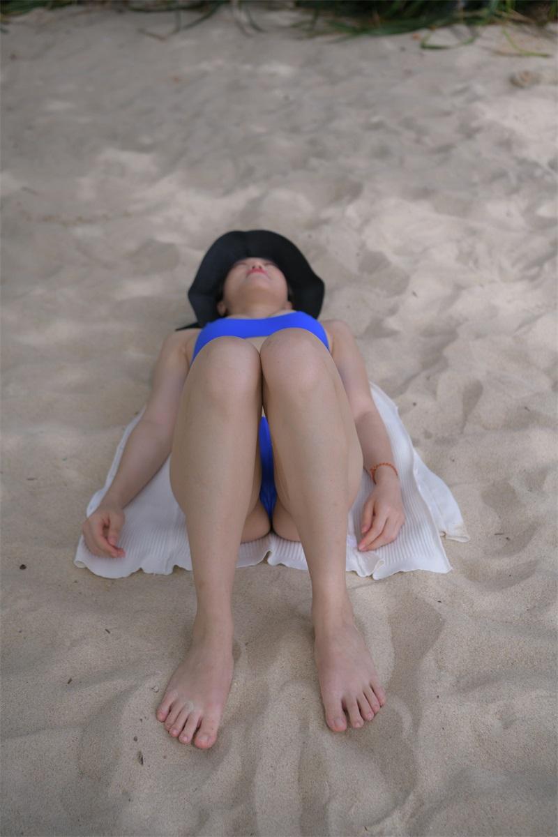 精选旅拍 NO.046 沙滩上姓感礼帽少妇 [78P/108MB] 精选旅拍-第4张