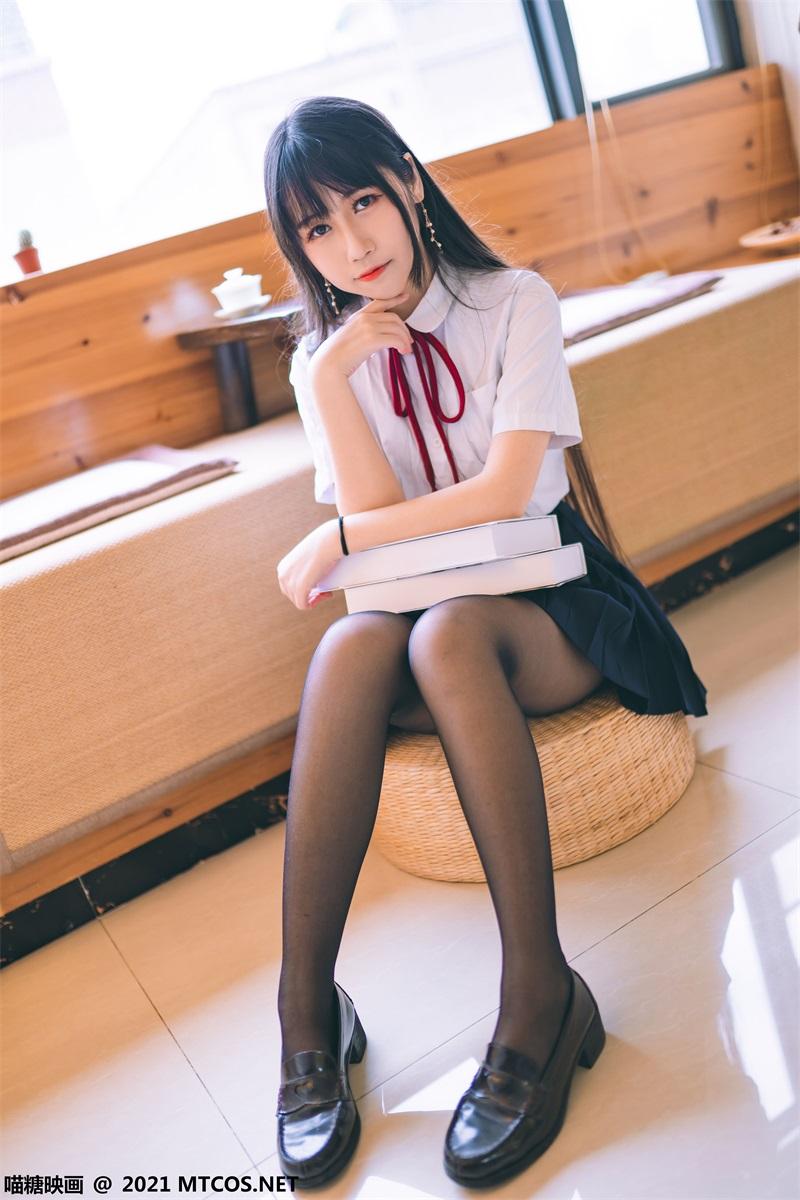 萝莉系列 喵糖映画少女写 VOL.360 JK西装 [38P/404MB] 喵糖映画-第4张