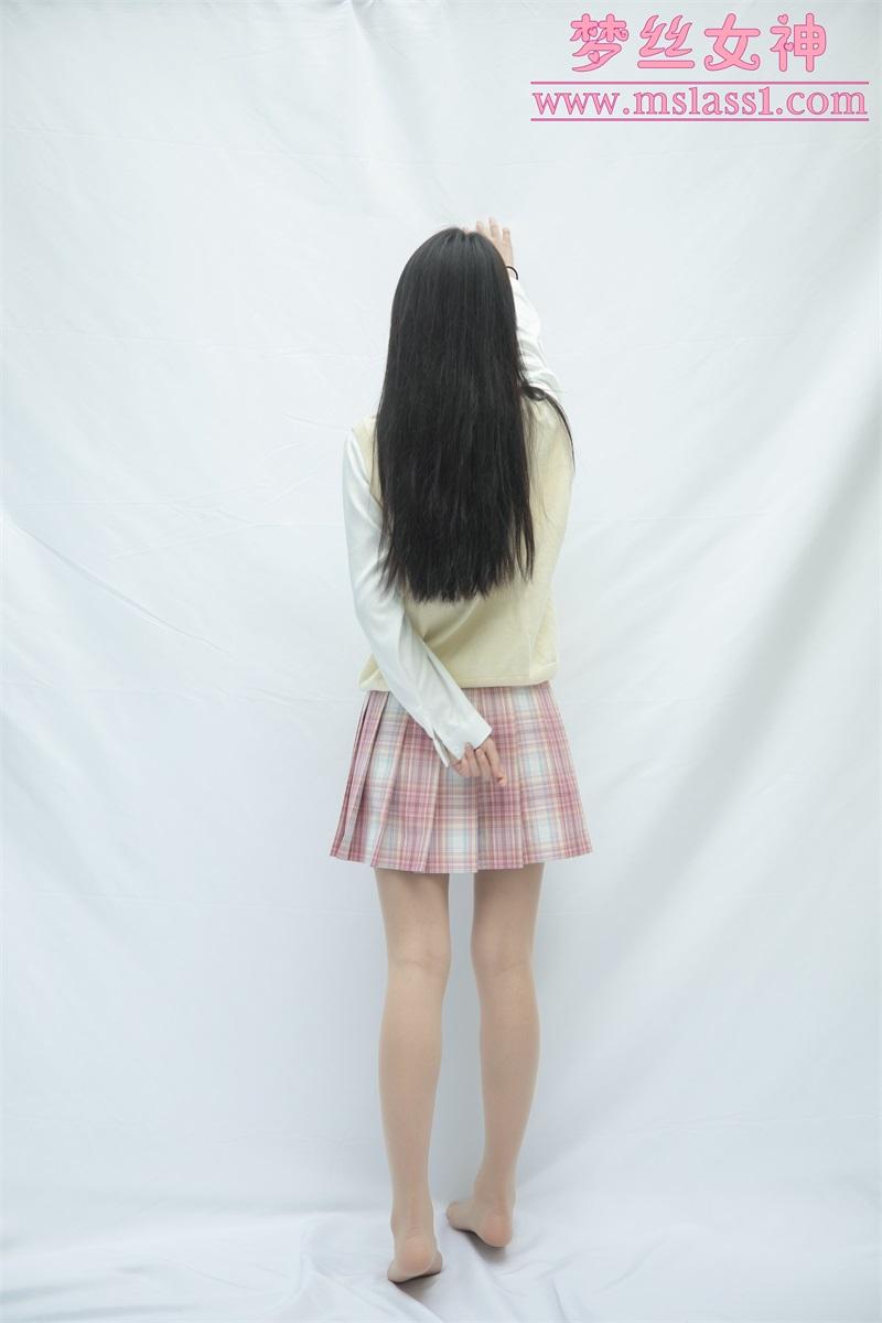 [MSLASS梦丝女神] 2021.06.21 小JK绝世的容颜 王娇娇 [52P261MB] 梦丝女神-第4张