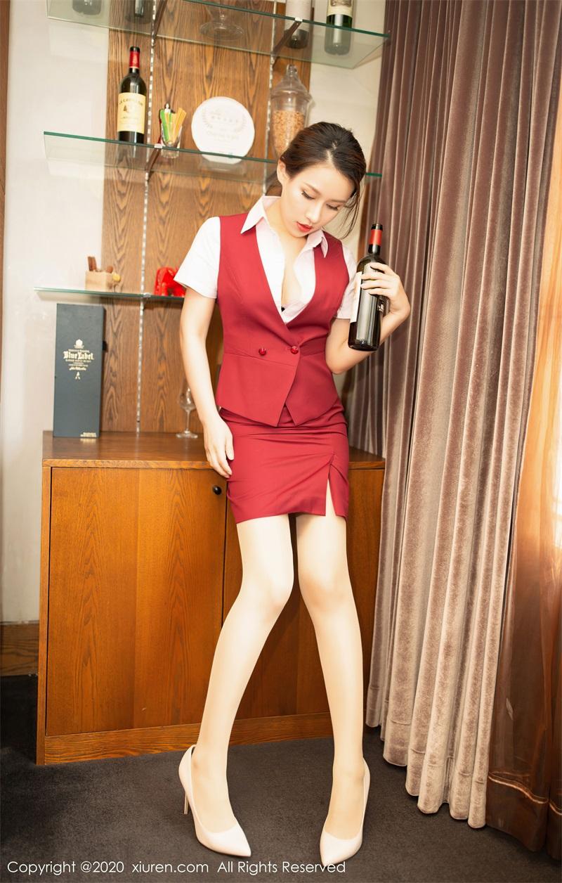 美女写真 银行职员制服主题 徐安安 [59P/592MB] 美丝写真-第4张