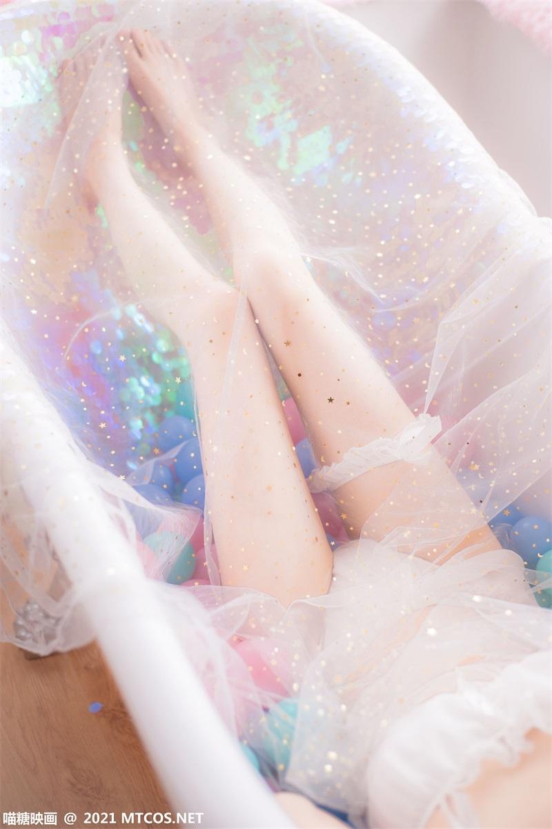 萝莉系列 喵糖映画少女写真 VOL.351 泡泡粉裙 [22P/99.5MB] 喵糖映画-第4张