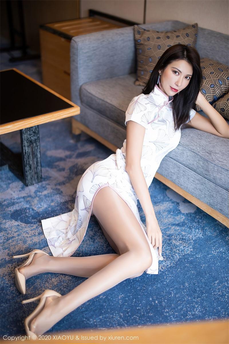美女写真 古典韵味旗袍与现代朦胧丝袜 Carry [62P/689MB] 美丝写真-第4张