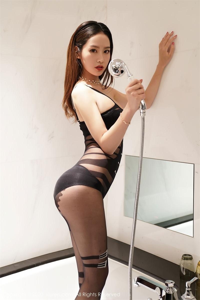 美女写真 黑色内衣 方子萱 [37P/326MB] 美丝写真-第3张