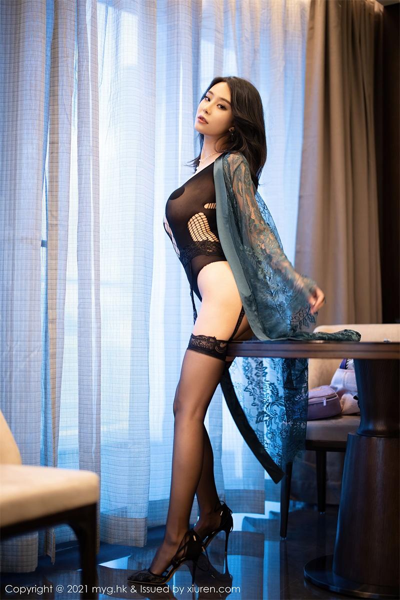 美女写真 精致镂空魅惑服饰 蓝夏Akasha  [59P/579MB] 美丝写真-第3张