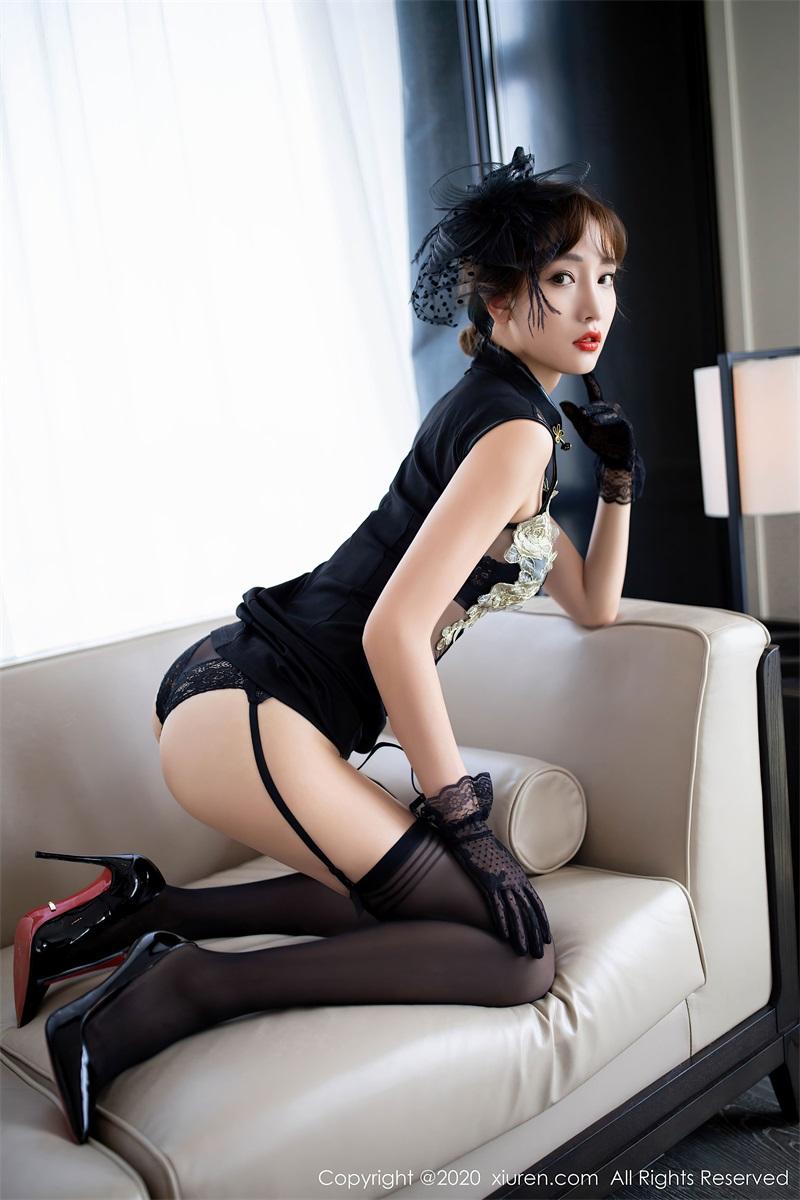 美女写真 复古旗袍主题 陆萱萱 [75P/678MB] 美丝写真-第3张