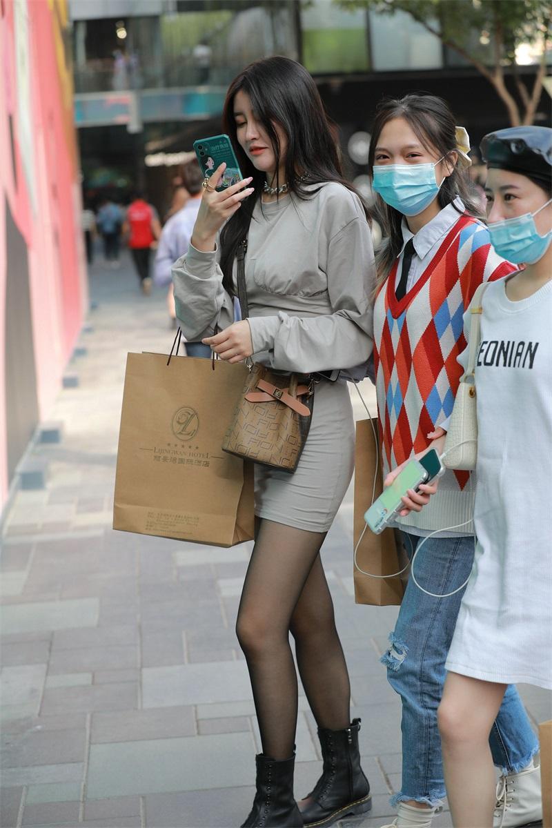 精选街拍 No.207 黑丝包臀裙小姐姐 [103P/143MB] 精选街拍-第3张