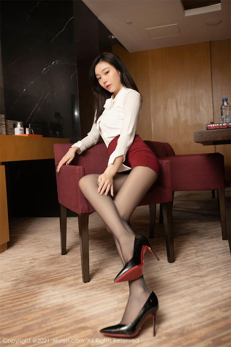 美女写真  会议室OL主题 安然Maleah [59P/583MB] 美丝写真-第2张