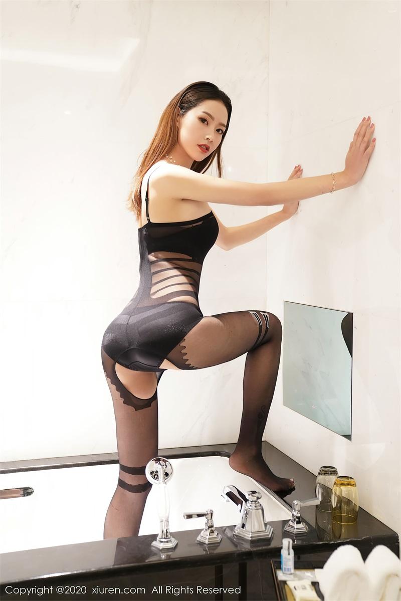美女写真 黑色内衣 方子萱 [37P/326MB] 美丝写真-第2张