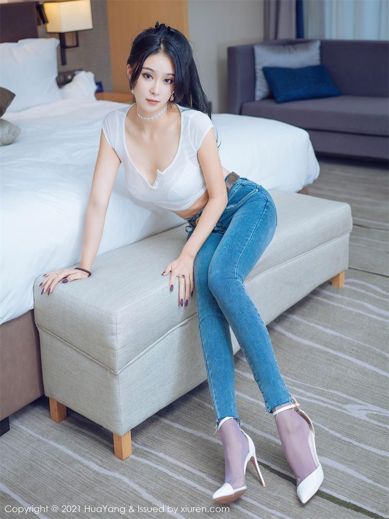 美女写真 直爽动人的牛仔裤 蓝夏Akasha [57P/656MB] 美丝写真-第2张