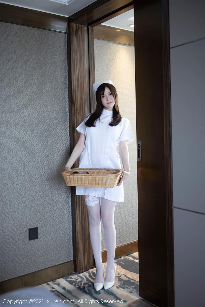 美女写真 洁白动人的护士制服主题 糯美子Mini [55P/525MB] 美丝写真-第2张