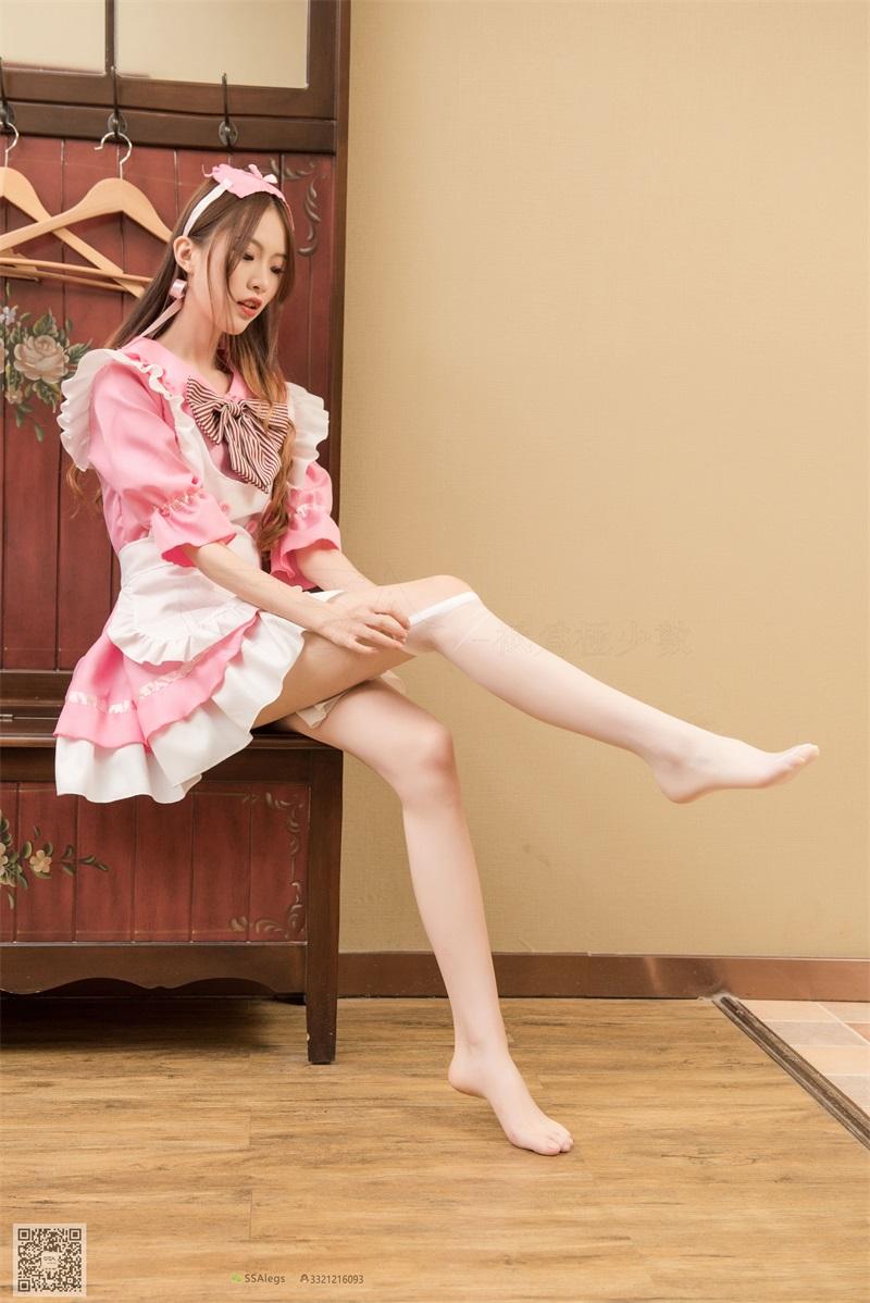 [SSA丝社] 超清版 NO.012 琪琪 我的粉红女仆 [99P/1.30GB] SSA丝社-第2张