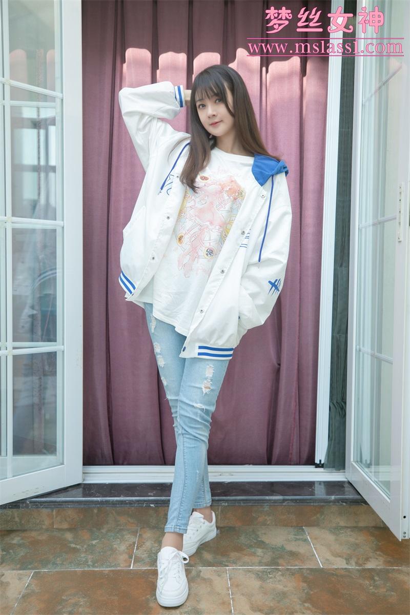 [MSLASS梦丝女神] 2021.06.20 牛仔裤的超美 郭襄 [63P1V-970MB] 梦丝女神-第2张