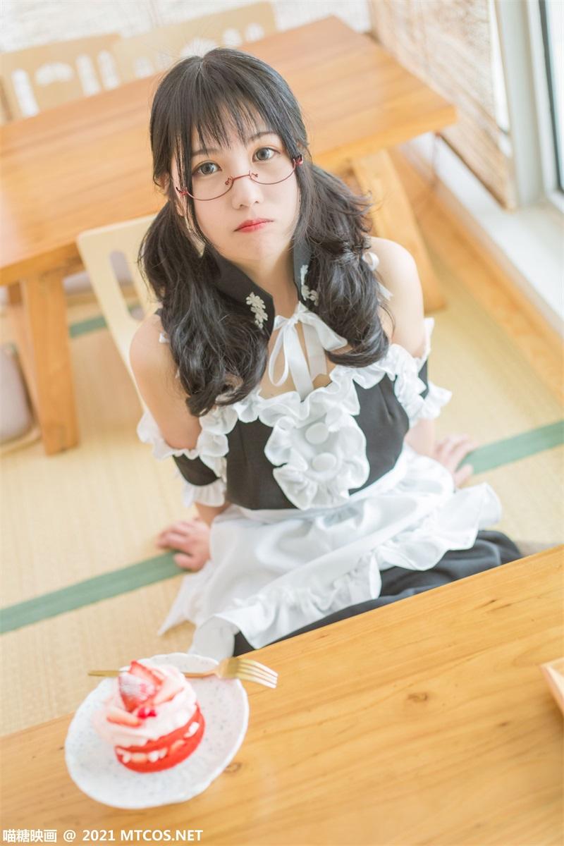萝莉系列 喵糖映画少女写 VOL.352 钕仆女友 [22P/186MB] 喵糖映画-第2张