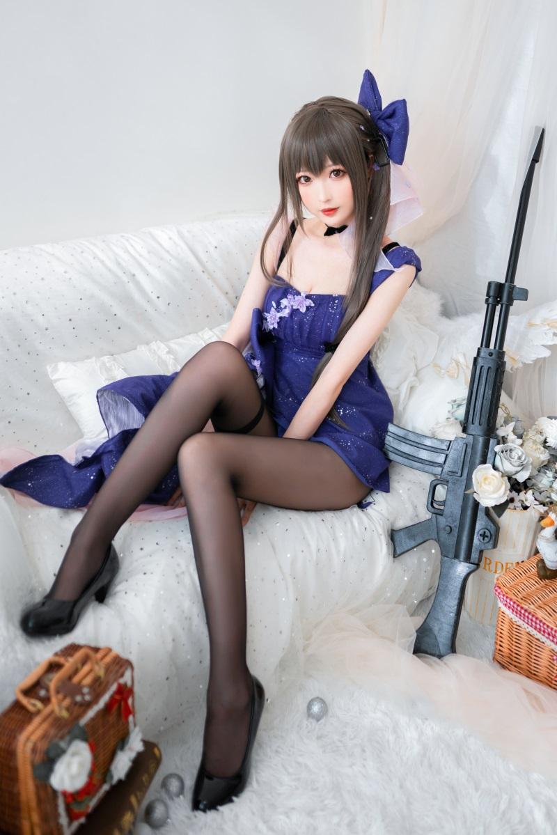 萝莉系列 喵糖映画少女写 VOL.354 蓝裙蝶 [20P/473MB] 喵糖映画-第2张