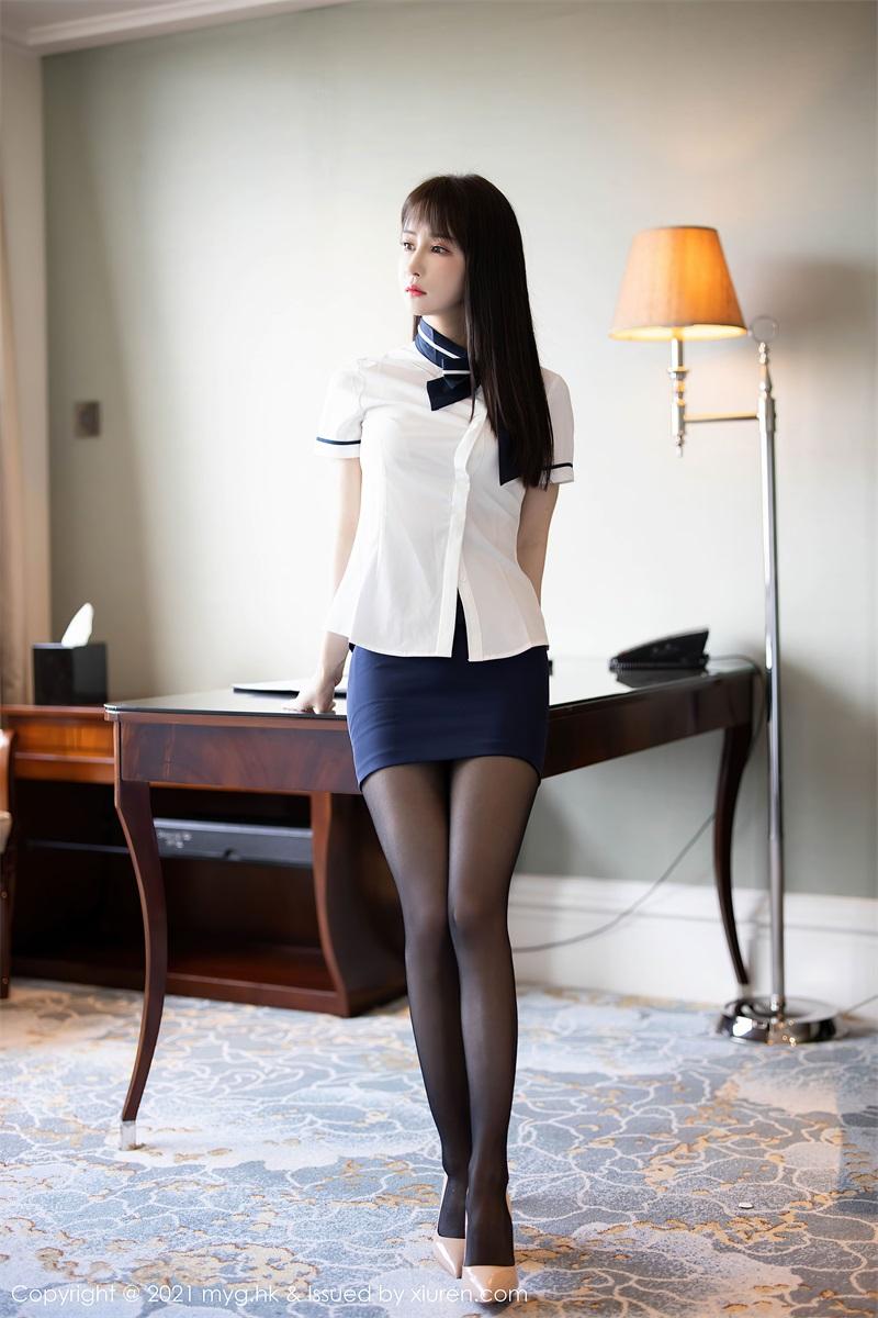 美女写真 黑短裙白衬衫与黑丝吊袜 蔡文钰Abby [68P/573MB] 美丝写真-第1张