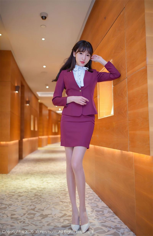 美女写真 空姐的丝袜主题 陆萱萱 [79P/766MB] 美丝写真-第1张