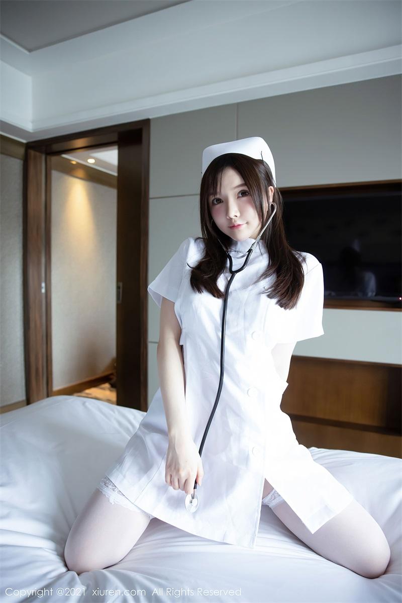 美女写真 洁白动人的护士制服主题 糯美子Mini [55P/525MB] 美丝写真-第1张