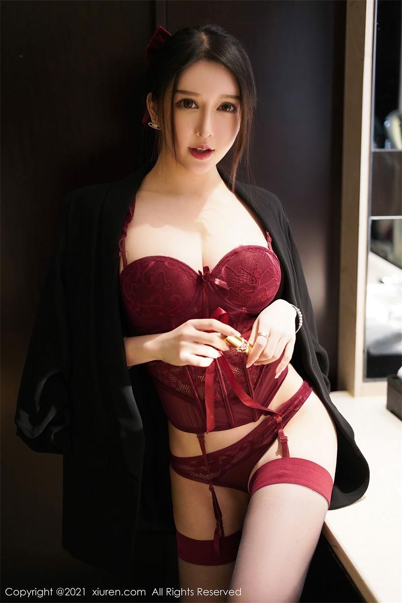 美女写真 红色情趣内衣 玉兔miki [66P/622MB] 美丝写真-第1张