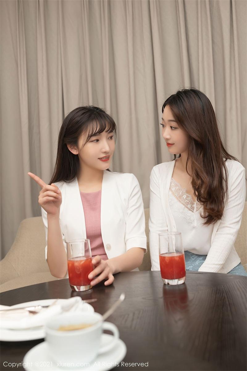 美女写真 唐安琪与闺蜜的下午茶 唐安琪 [69P/639MB] 美丝写真-第1张