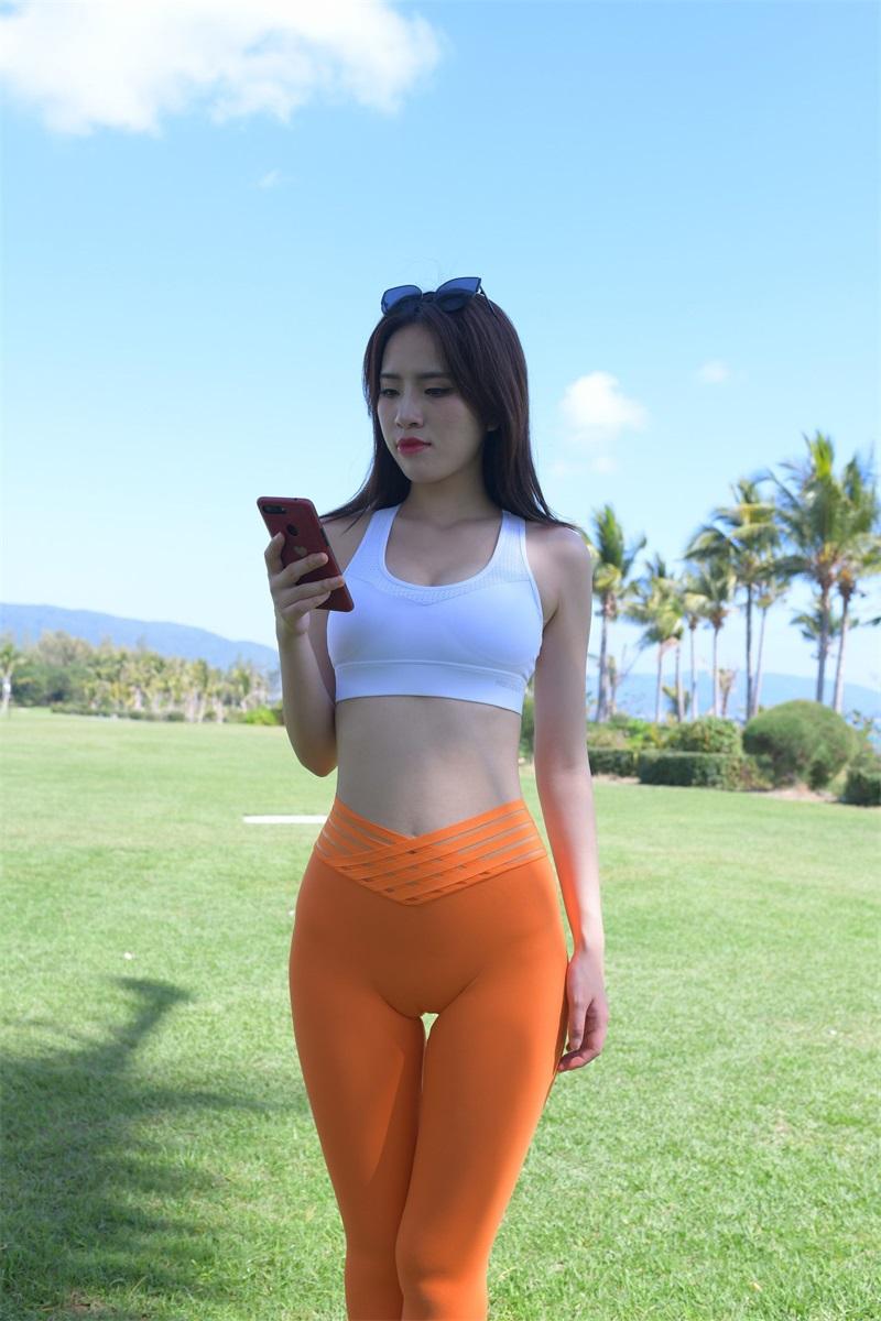 精选旅拍 NO.030 穿橘色瑜伽裤的美女1 [279P/186MB] 精选旅拍-第1张