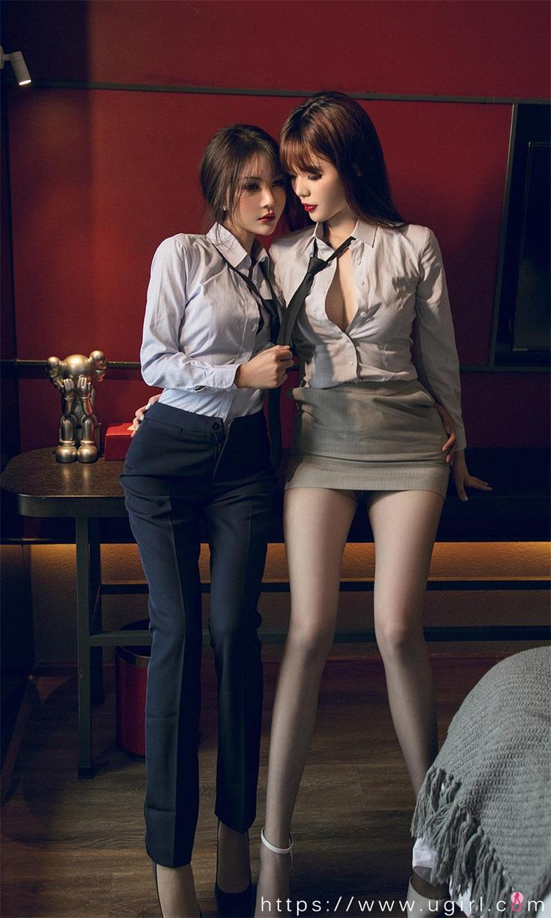 美女写真 天生一对 尹菲&Betty [35P/41MB] 美丝写真-第1张