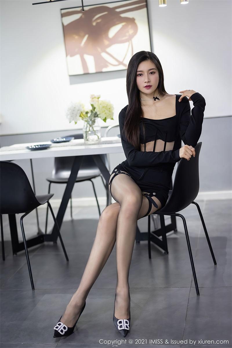 美女写真 黑色典雅华丽的服饰 Vanessa  [73P/606MB] 美丝写真-第4张