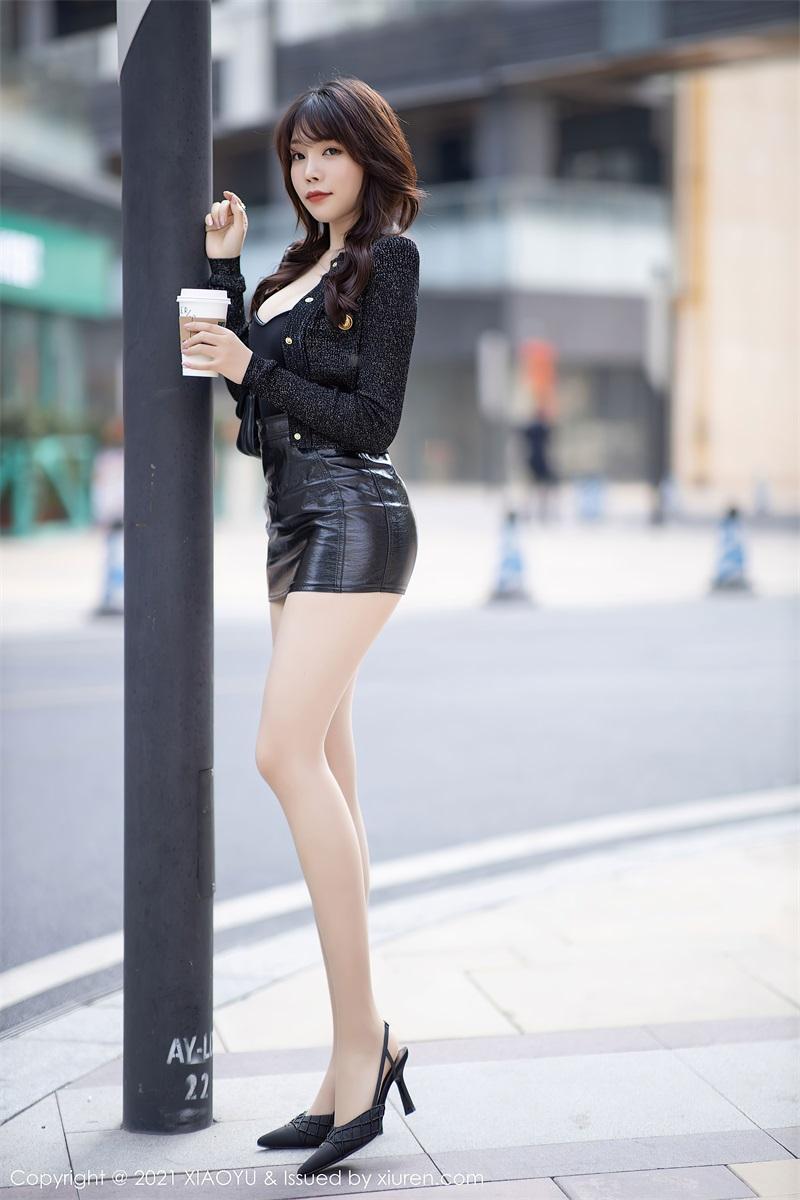 美女写真 时尚动人的皮裤 芝芝Booty [91P/764MB] 美丝写真-第4张