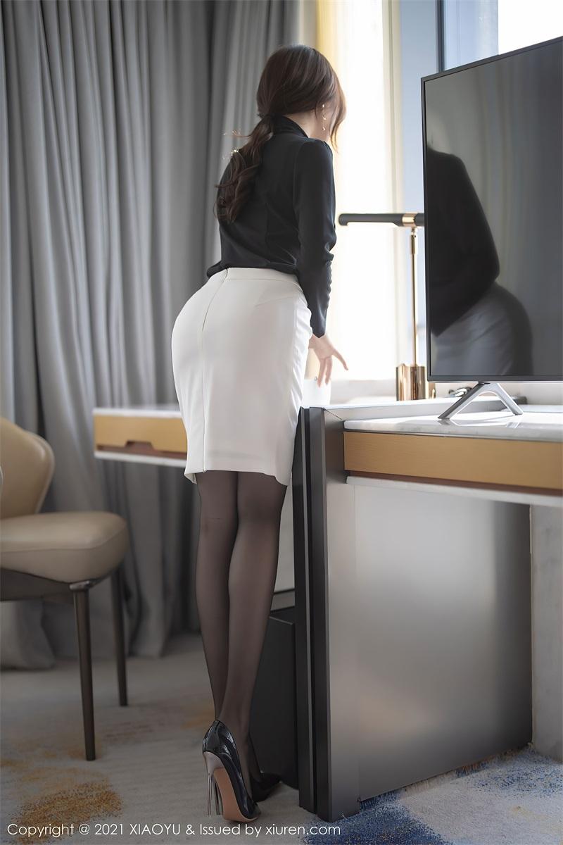 美女写真 经典的职场秘书 芝芝Booty [94P/785MB] 美丝写真-第4张