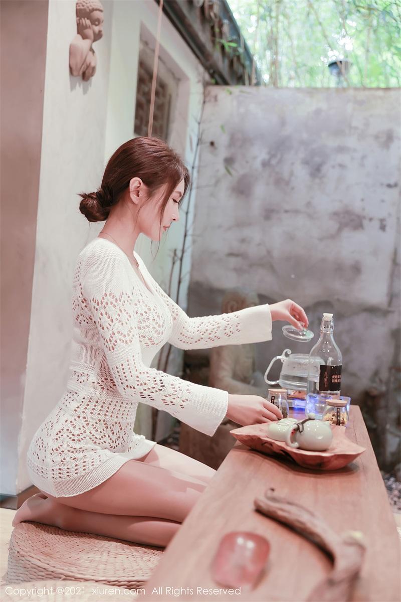美女写真 茶室主题系列 Emily尹菲 [48P/432MB] 美丝写真-第4张