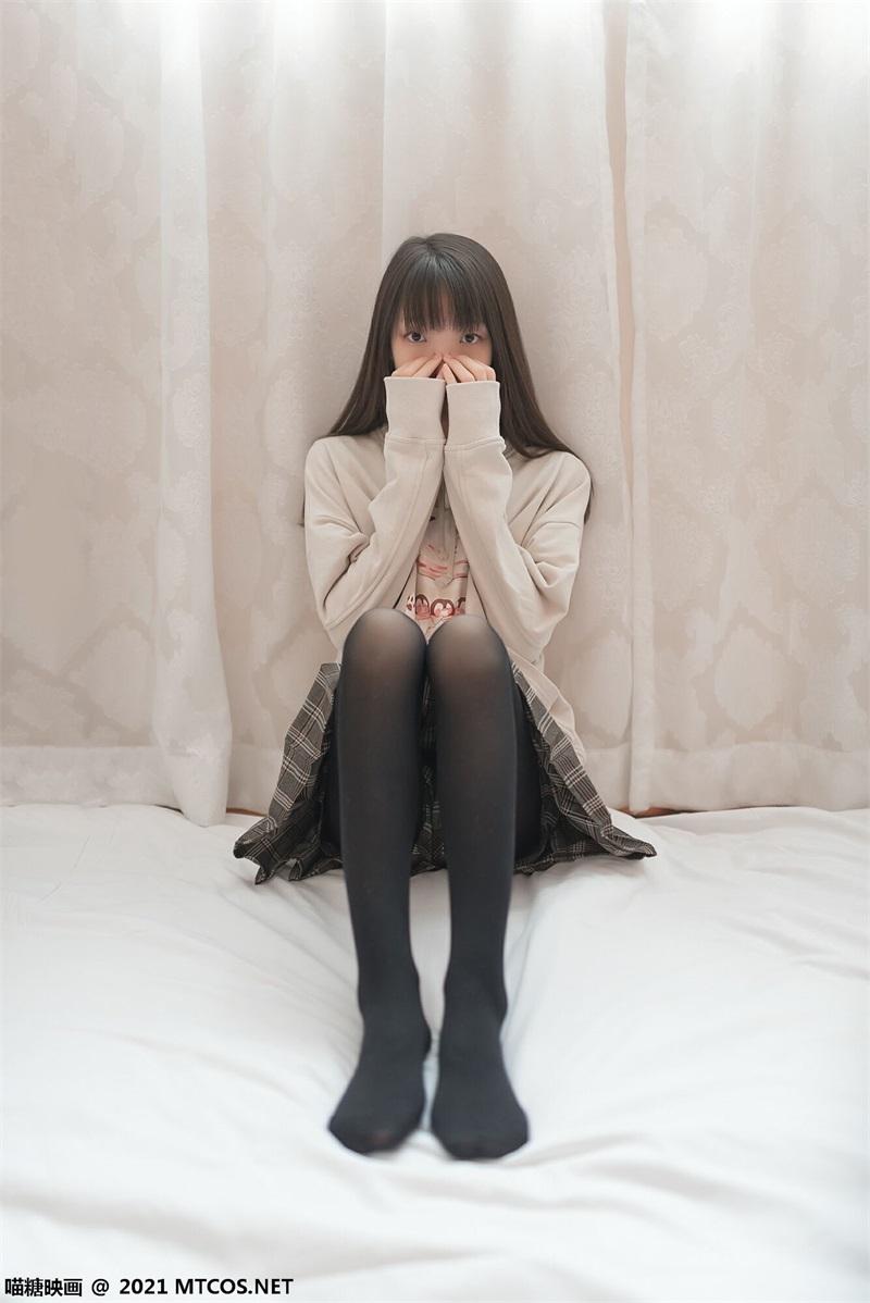 萝莉系列 喵糖映画少女写 VOL.367 黑直长 [50P/96MB] 喵糖映画-第4张