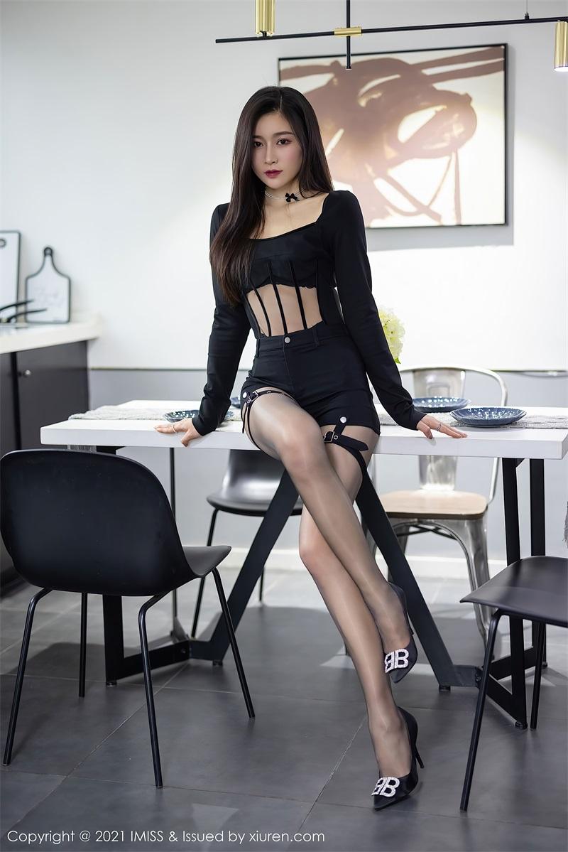 美女写真 黑色典雅华丽的服饰 Vanessa  [73P/606MB] 美丝写真-第3张