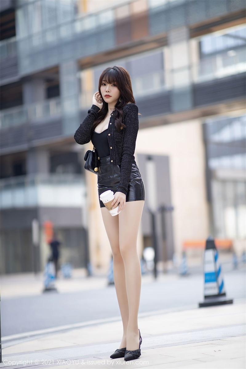 美女写真 时尚动人的皮裤 芝芝Booty [91P/764MB] 美丝写真-第3张