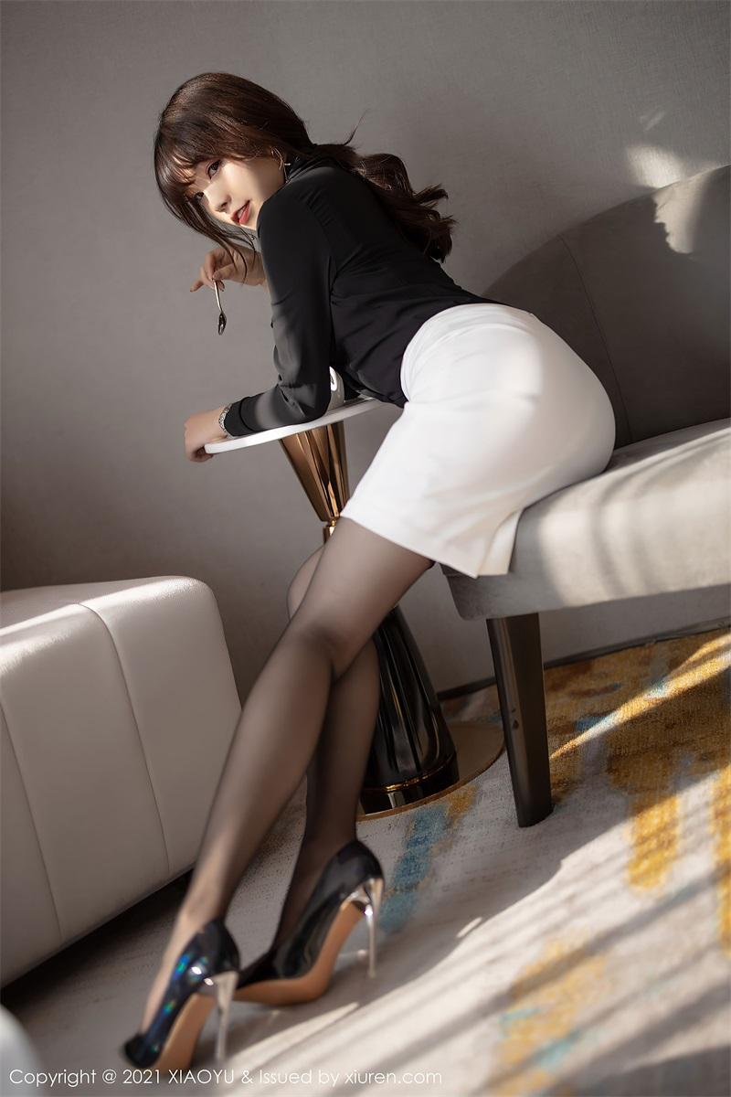 美女写真 经典的职场秘书 芝芝Booty [94P/785MB] 美丝写真-第3张