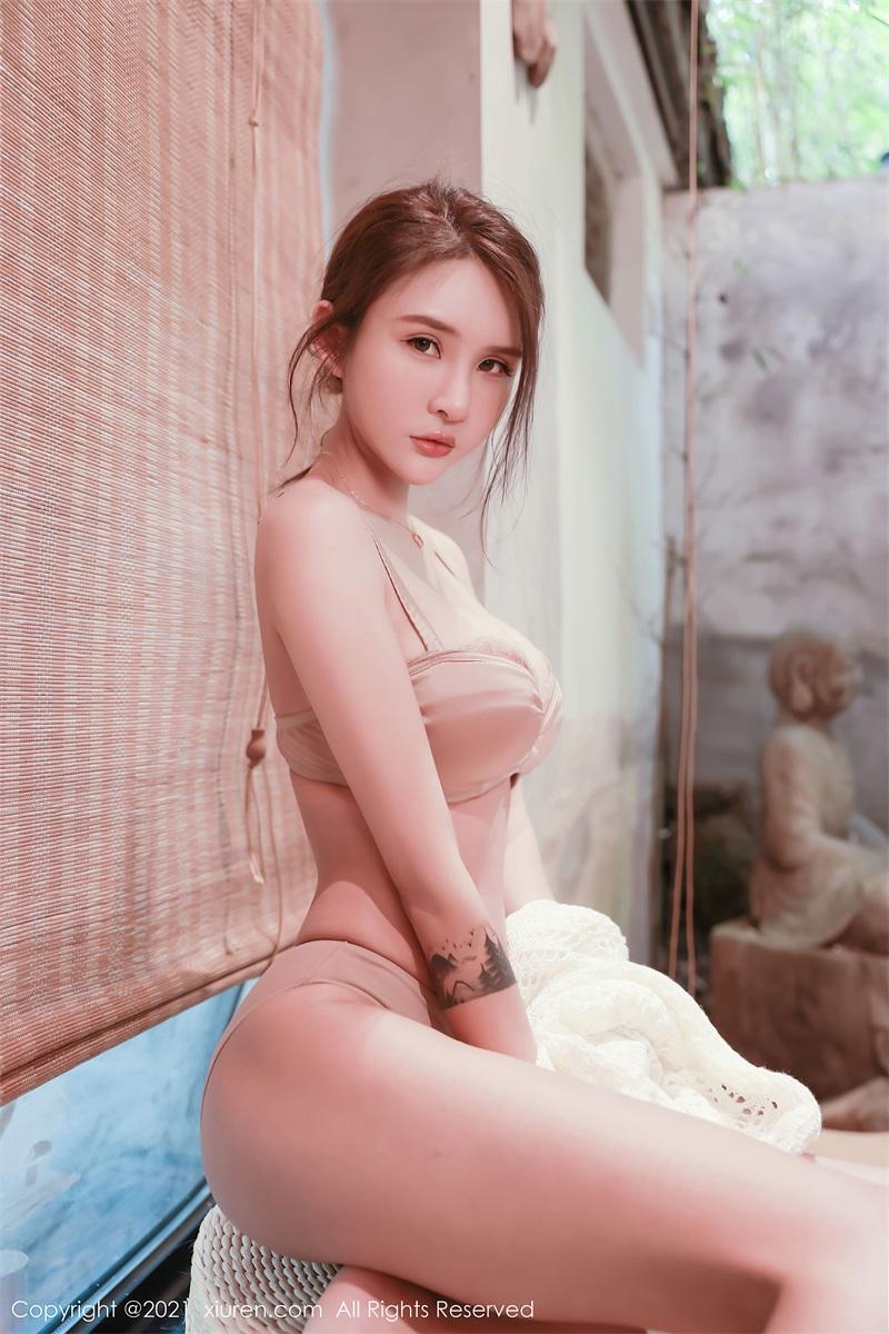 美女写真 茶室主题系列 Emily尹菲 [48P/432MB] 美丝写真-第3张