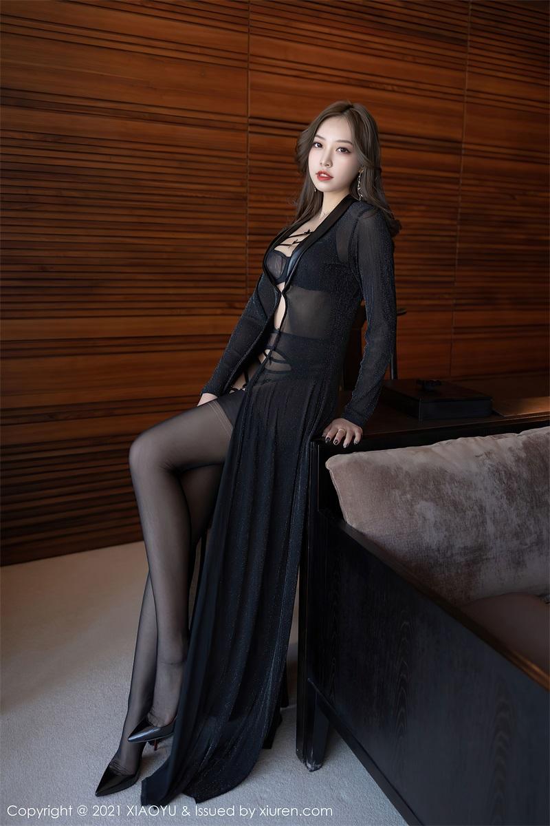 美女写真 魅惑多姿的黑色服饰 郑颖姗Bev [77P/698MB] 美丝写真-第2张