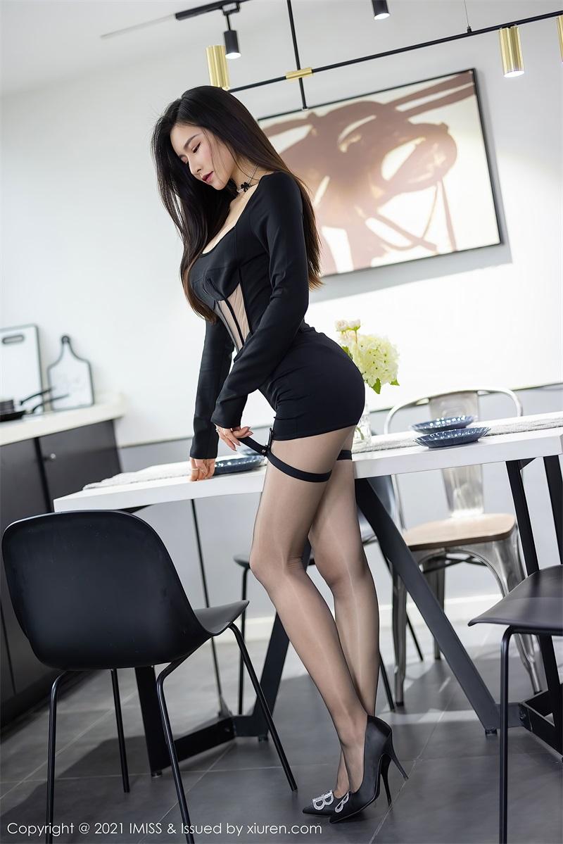 美女写真 黑色典雅华丽的服饰 Vanessa  [73P/606MB] 美丝写真-第2张