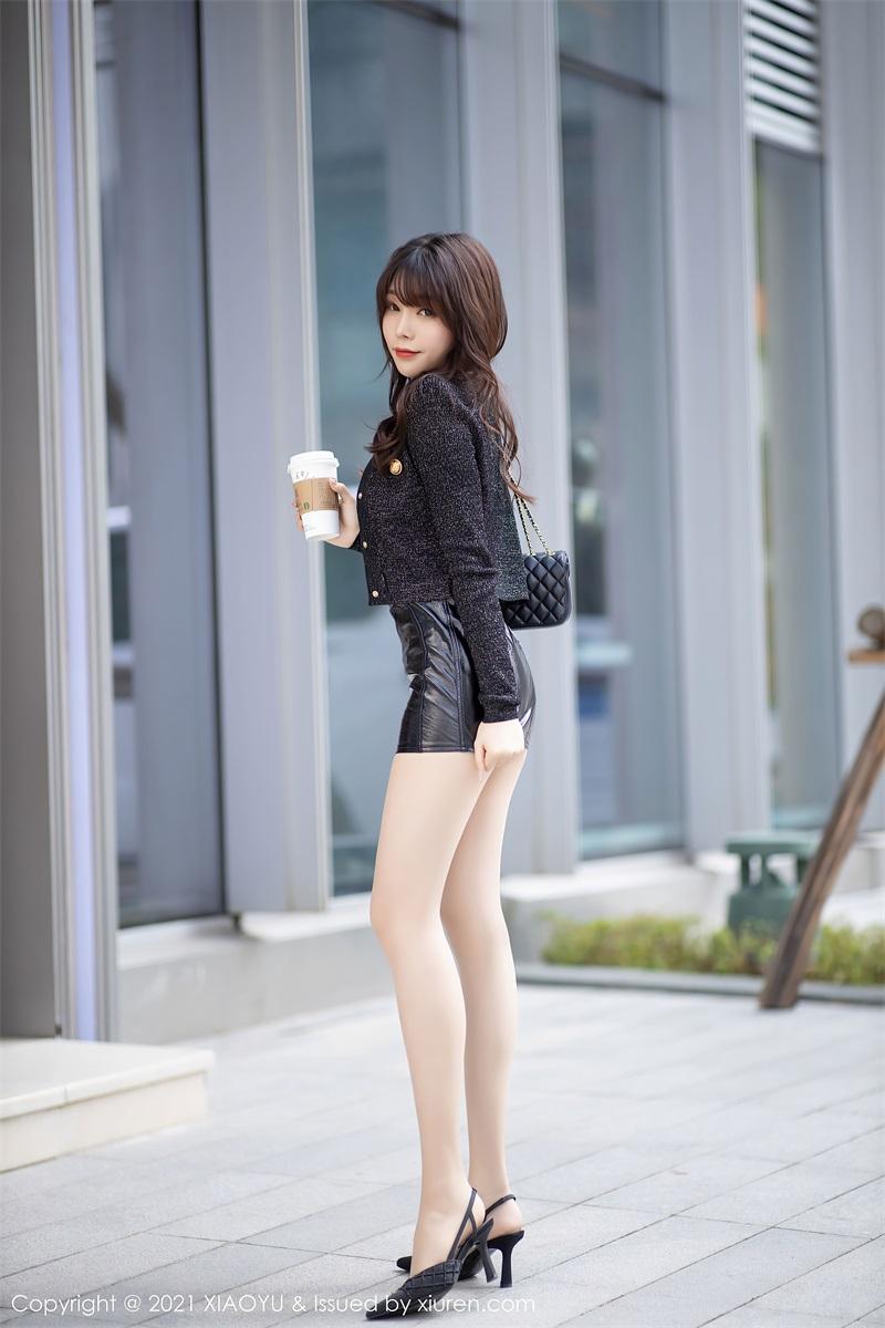 美女写真 时尚动人的皮裤 芝芝Booty [91P/764MB] 美丝写真-第2张