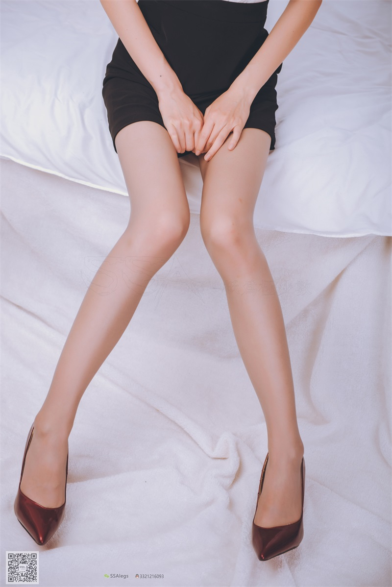 [SSA丝社] 超清版 NO.020 琪琪 女秘书闺房灰丝袜 [99P/845MB] SSA丝社-第2张