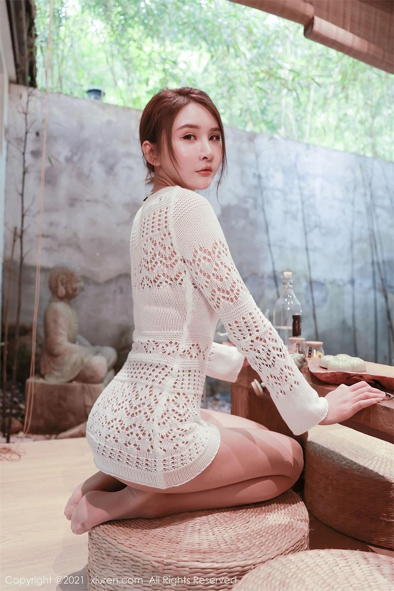 美女写真 茶室主题系列 Emily尹菲 [48P/432MB] 美丝写真-第2张
