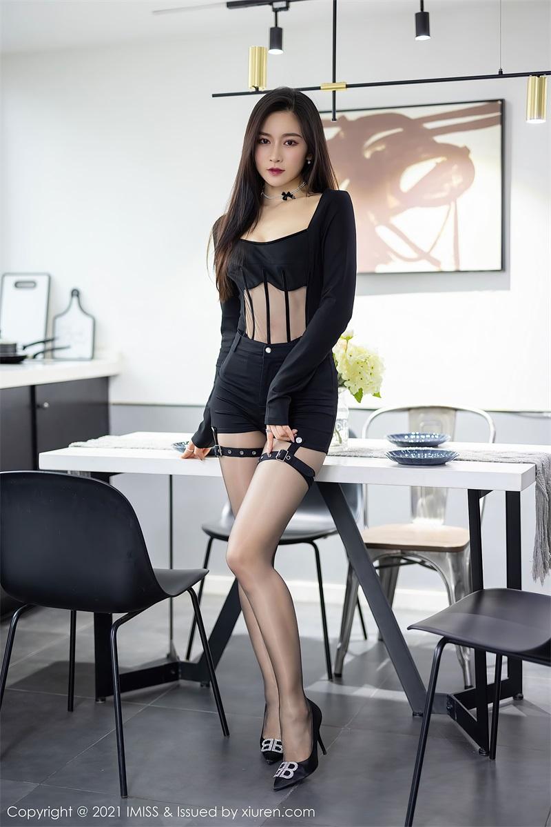 美女写真 黑色典雅华丽的服饰 Vanessa  [73P/606MB] 美丝写真-第1张