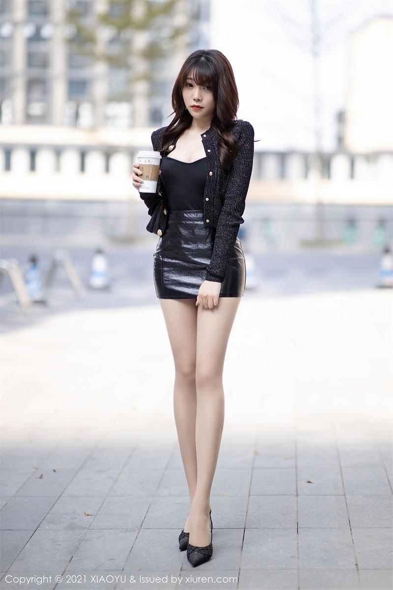 美女写真 时尚动人的皮裤 芝芝Booty [91P/764MB] 美丝写真-第1张