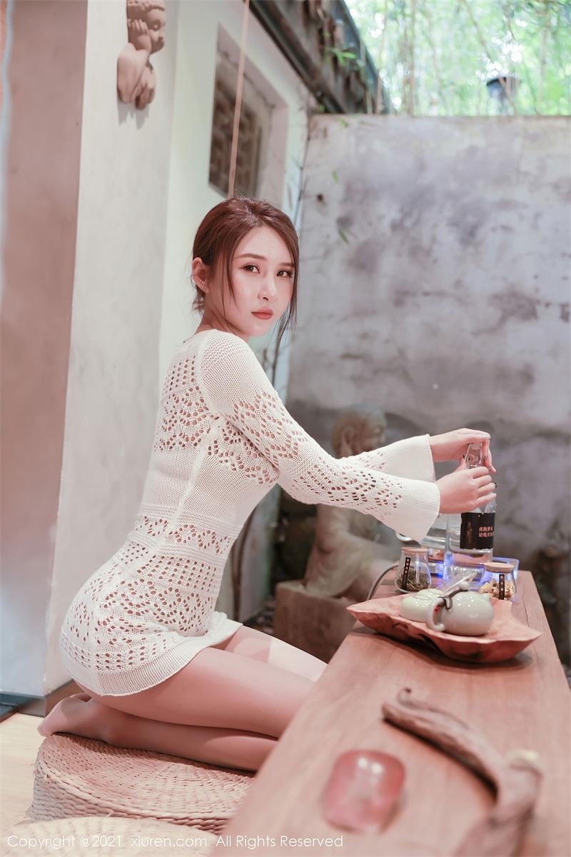 美女写真 茶室主题系列 Emily尹菲 [48P/432MB] 美丝写真-第1张